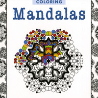 Zen Coloring Mandalas Adult Coloring Book