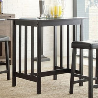 3 Piece Kitchenette Kitchen Table & Chairs Dining Room Furniture Counter Height