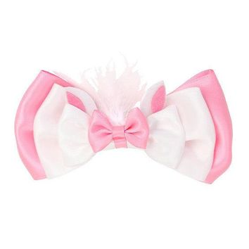 Licensed cool Disney The Aristocats Marie Cat Hair Bow Tie Clip Pin Cosplay Costume Dress Up