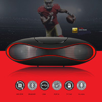 New Mult-function Portable Mini Football Wireless Bluetooth Speaker Mic HIFI Super Bass Support USB TF Card For All Phone