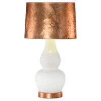 Olympia Table Lamp, Rose Gold, Table Lamps
