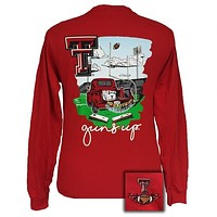 SALE Texas Tech Red Raiders Tailgates & Touchdowns Party Long Sleeve T-Shirt