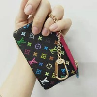 LV tide brand female clutch bag purse zipper wallet
