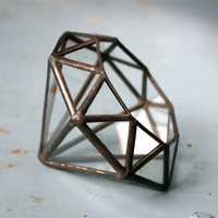 Diamond //made with recycled glass// - Small