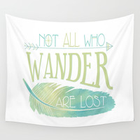 Wanderer Wall Tapestry by Cute To Boot