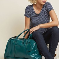 Pack to Back Weekend Bag in Teal