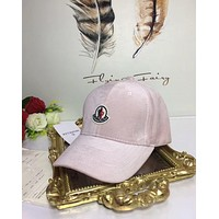 Moncler Men Women Cashmere baseball cap