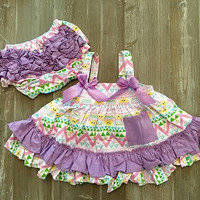 Easter Outfit, Baby Girl Easter Outfit, Easter Swing Top Set, Baby's First Easter, Girls First Easter Outfit, Easter Bunny Outfit, Dress
