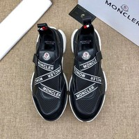 DCCK MONCLER Men Casual Shoes Boots fashionable casual leather