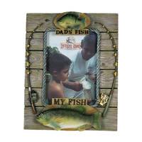 River's Edge Dads Fish - My Fish Photo Frame