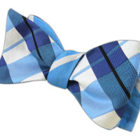 Monster Trad - Mystic Blue (Reversible Bow Ties) - Wear Your Good Tie. Every Day