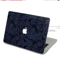 ON SALE Blue pattern Decal for Macbook Pro, Air or Ipad Stickers Macbook Decals Apple Decal for Macbook Pro / Macbook Air JQ-006
