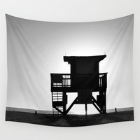 Lifeguard Outpost No.4 - Wall Tapestry