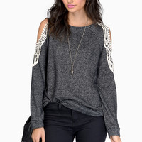 Dash Of Sugar Sweater Top