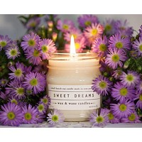 Wax and Wane Candles - Sweet Dreams Lavender Soy Candle
