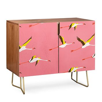 Holli Zollinger Flamingo Crush Credenza