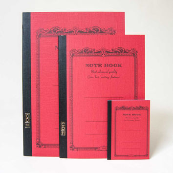 Apica Most Advanced Quality Notebook Red - Red /