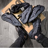 Adidas Yeezy 700 V3 skeleton fashion men's and women's shoes low-top breathable casual sports shoes