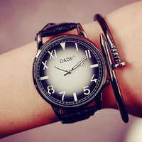 2016 New Retro Style Leather Watch Gift - 516