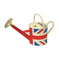 Union Jack Metal Watering Can