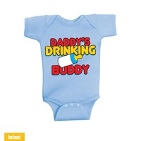 Daddy's Drinking Buddy - Infant Lap Shoulder Bodysuit