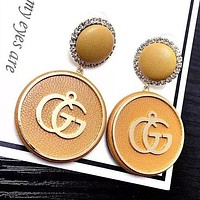 8DESS GUCCI Women Fashion Ear Studs Earrings Jewelry