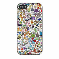 pokemon all caracters cases for iphone se 5 5s 5c 4 4s 6 6s plus