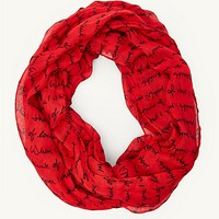 I Think Of Love Infinity Scarf