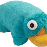 My Pillow Pets Authentic Disney Perry Folding Plush Pillow, 18-Inch, Large: Home & Kitchen