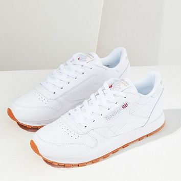 Reebok Classic Leather Sneaker   Urban Outfitters
