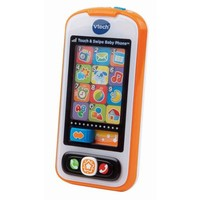 VTech Touch and Swipe Baby Phone, Multi-Color - Walmart.com