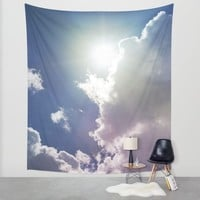 Hello Sunshine... Wall Tapestry by Lisa Argyropoulos