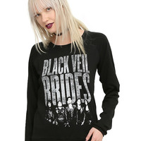 Black Veil Brides Group Girls Pullover Top