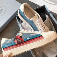 Prada Fashion Leather Sneaker