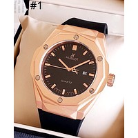 HUBLOT tide brand men and women models simple fashion wild quartz watch #1