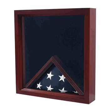 Military Flag and Certificate display Case the casket flag it will be 30' x 26'