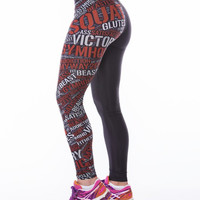 WordFusion Tights