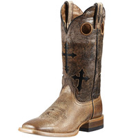 Ariat Ranchero Cross Square Toe Boots