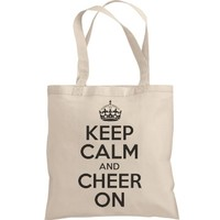 Keep Calm And Cheer On: Funny Clothing