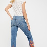 Free People Insider Crop Fray Jeans