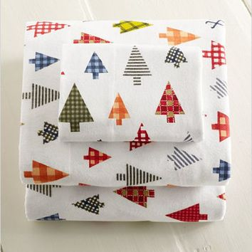 Plaid Forest Flannel Sheet Set: Sheet Sets | Free Shipping at L.L.Bean