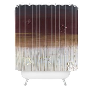 Kent Youngstrom non fat mocha wit a caramel drizzle Shower Curtain