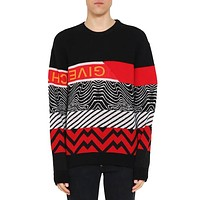 Givenchy Trending Women Men Stylish Long Sleeve Cashmere Knit Sweater Top Sweatshirt