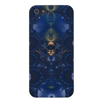 Blue Feather Adornments Case For iPhone 5 from Zazzle.com