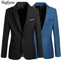 korean Men casual Suit slim Jacket blazer coat man  068