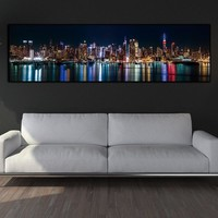 canvas painting Picture wall picture city night art print canvas posters wall art Painting home decor landcape art print