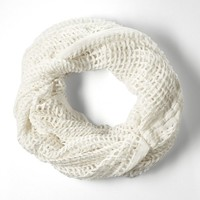 Simply Vera Vera Wang Open-Weave Infinity Scarf