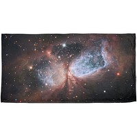 Star Forming Region S106 All Over Beach Towel
