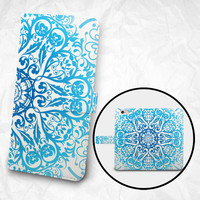 iPhone 6 Case with Strap iPhone 6S Case Wallet iPhone 6 Case Wallet iPhone 6 PLUS Wallet iPhone 6S Plus Wallet mandala pretty lace flower