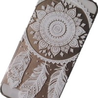 "Acefast INC Plastic Case Cover for Apple Iphone 6 4.7"" for Iphone 6 5.5"" Henna Ojibwe Dream Catcher Ethnic Tribal (For iphone 6 4.7"")"
